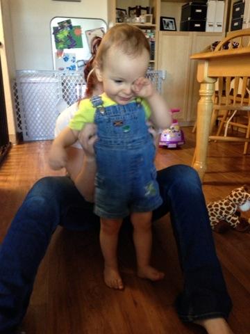 Cutie in overalls