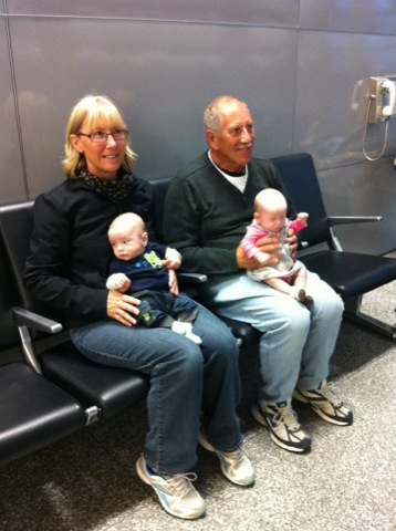 Wishing Papa and Nana Kiwi safe travels!