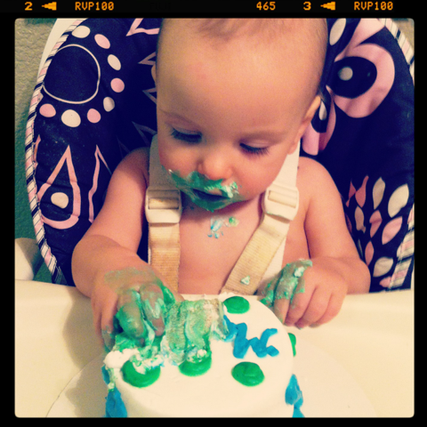 Happy 1st Birthday, Merrick!